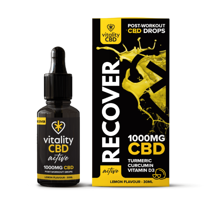 Active CBD Recover Drops 30ml - 1000mg
