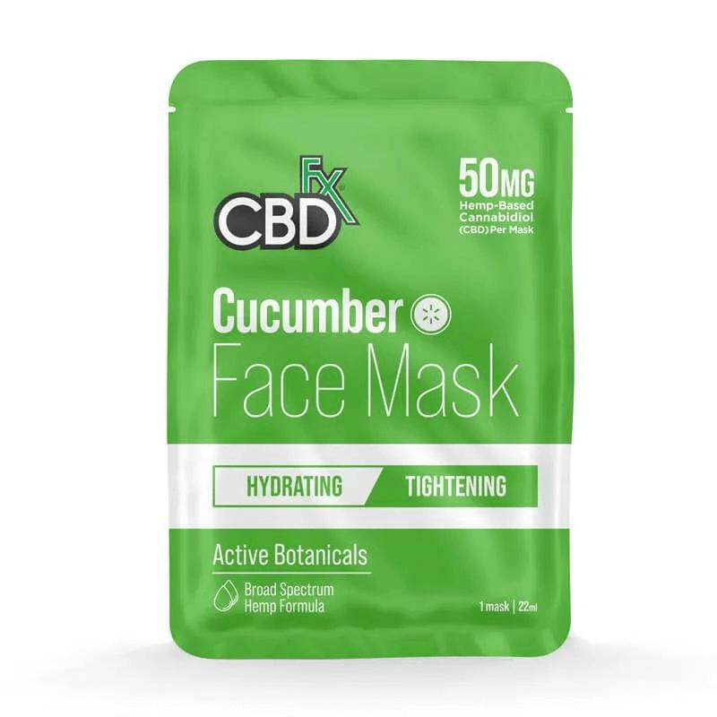 CBD Cucumber Face Mask 50mg
