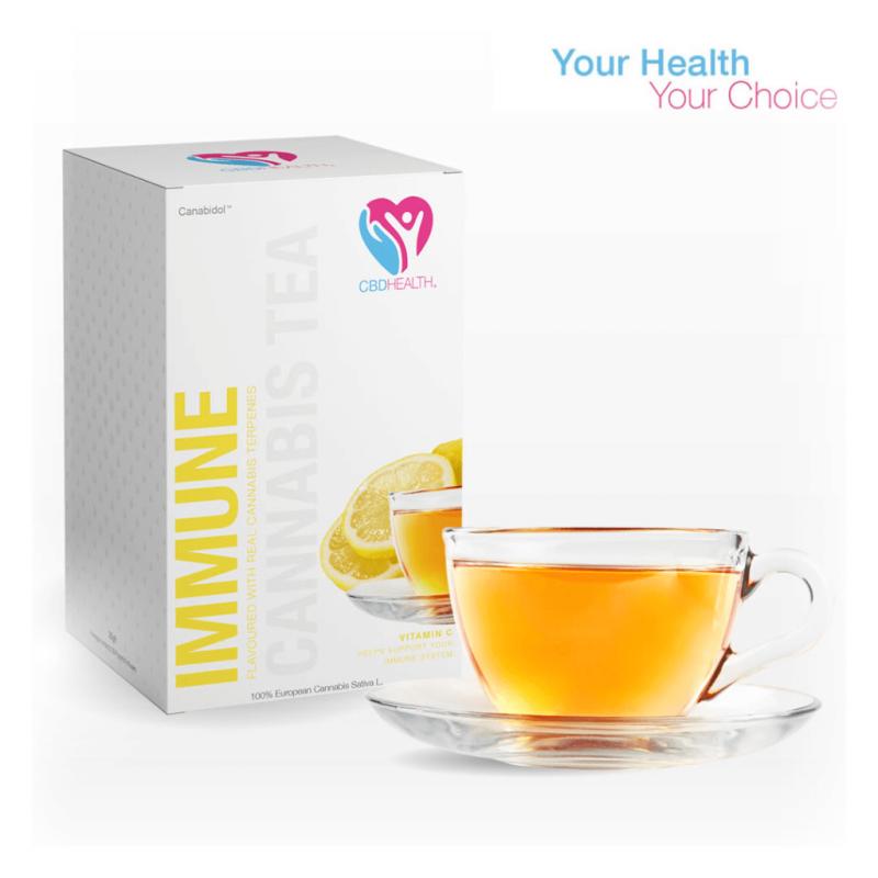 CBD HEALTH® IMMUNE SUPPORT TEA