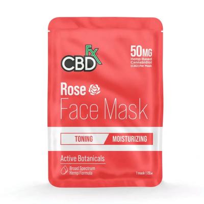 CBDfx Rose Face Mask 50mg