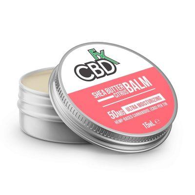 CBDfx Shea Butter Balm – Citrus 50mg
