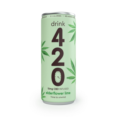 Drink 420 Elderflower Lime