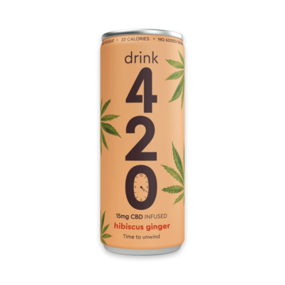 Drink 420 Hibiscus Ginger