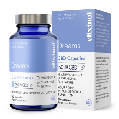 Elixinol Dreams CBD Capsules 150mg