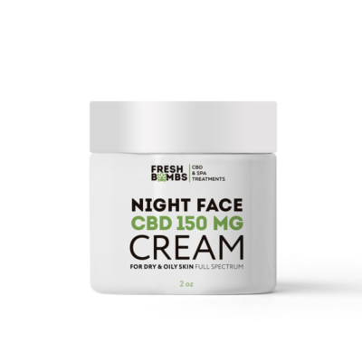 Fresh Bombs CBD Night Cream