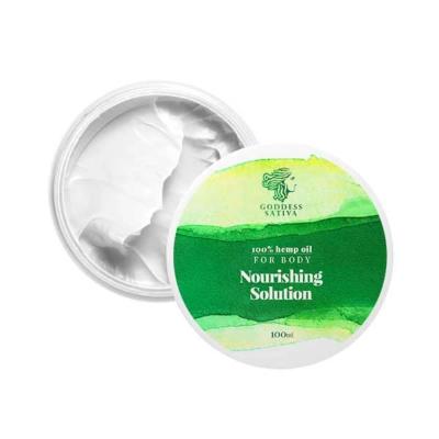 Goddess Sativa Body Cream 100% Hemp Oil 100ml