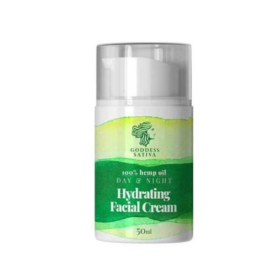 Goddess Sativa Hydrating Facial Cream 100% Hemp Oil 50ml