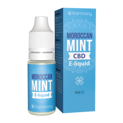 Harmony CBD Moroccan Mint E-Liquid 10ml