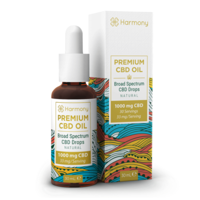 Harmony CBD Oil 1000mg