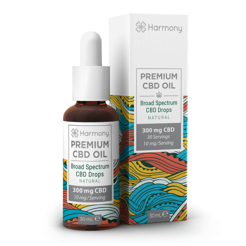 Harmony CBD Oil 300mg