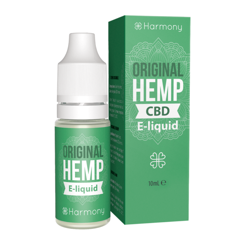 Harmony CBD Original Hemp E-Liquid 10ml