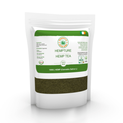 Hempture RAW crushed FULL Spectrum HEMP TEA – 100G