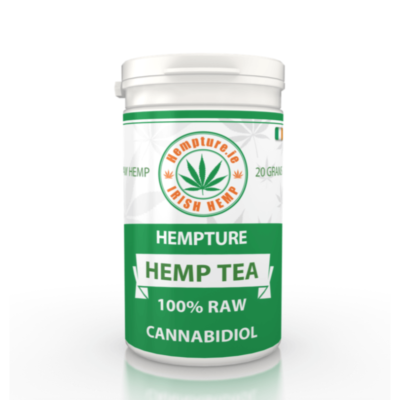 Hempture RAW crushed FULL Spectrum HEMP TEA – 20G