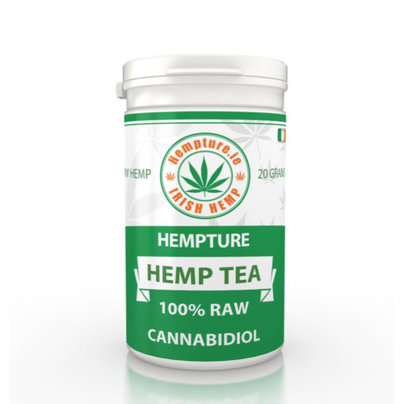 Hempture RAW crushed FULL Spectrum HEMP TEA – 20G