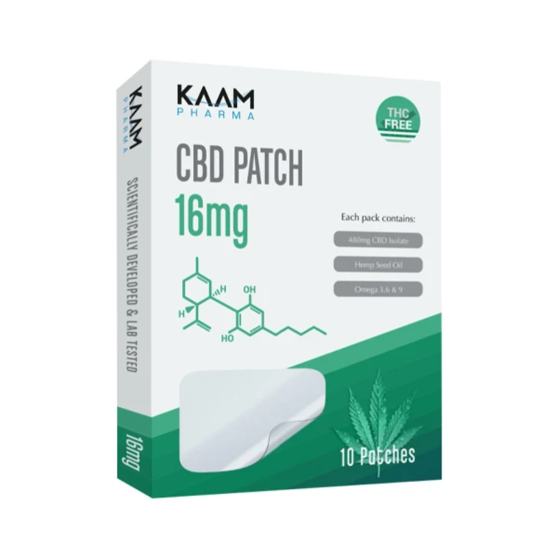 Kaam Pharma 16mg CBD Isolate Patches - 10 Pack - Image