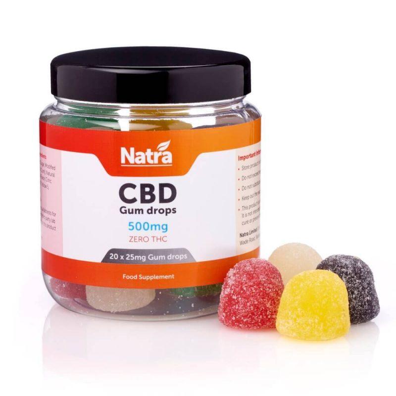Natra CBD Gum Drops 500mg