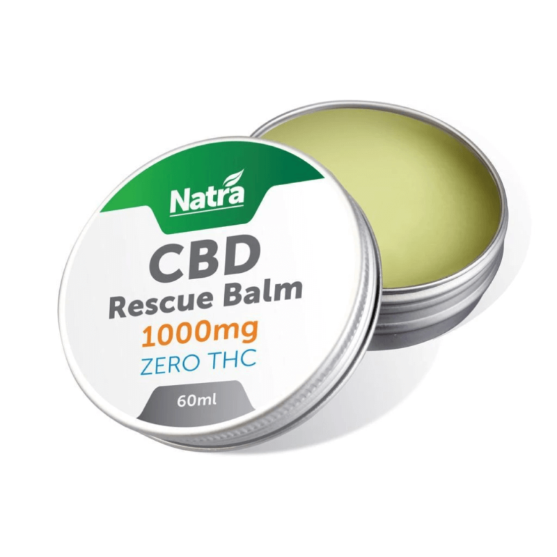 Natra CBD Rescue Balm 1000mg