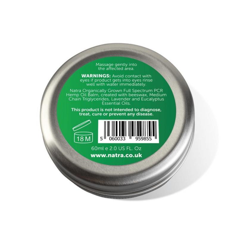 Natra CBD Rescue Balm - Ingredients