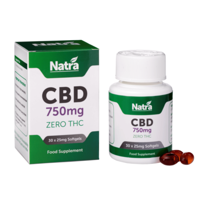 Natra CBD Softgels 750mg