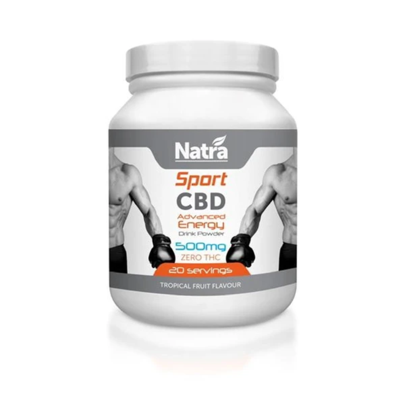 Natra CBD Sports Drink Powder