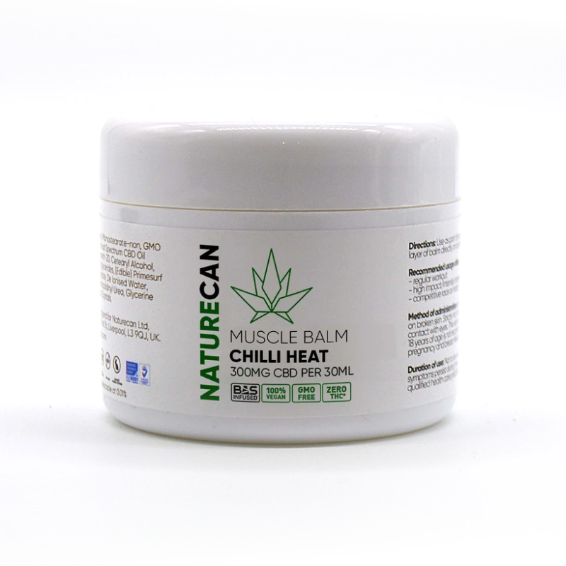Naturecan CBD Muscle Balm - Chilli Heat