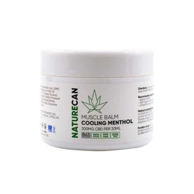 Naturecan CBD Muscle Balm - Cooling Menthol