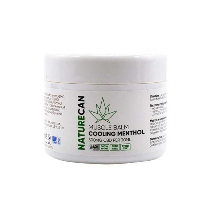 Naturecan CBD Muscle Balm - Cooling Menthol