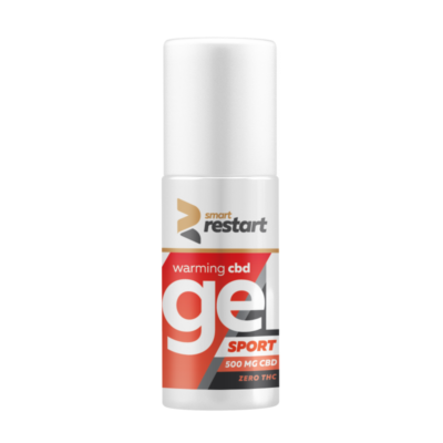 Smart Restart Muscle Relief Gel Warming 0% THC- 500mg