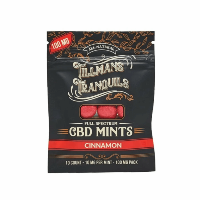 Tillman Tranquils Cinnamon Full Spectrum CBD Mints