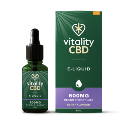 Vitality CBD E-Liquid - Berry 30ml - 600mg