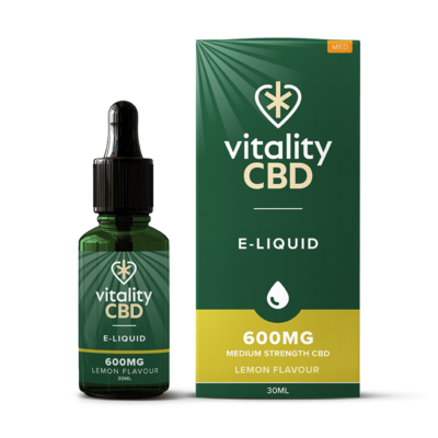 Vitality CBD E-Liquid - Lemon 30ml - 600mg