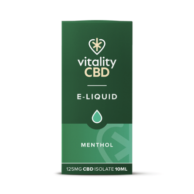 Vitality CBD Isolate E-liquid - Menthol 10ml