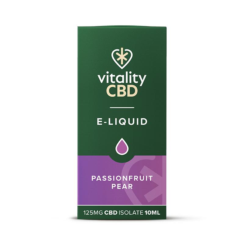 Vitality CBD Isolate E-liquid - Passionfruit Pear 10ml