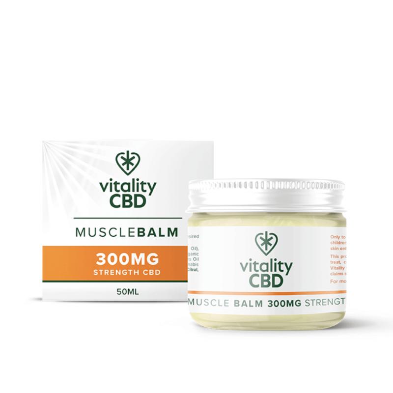 Vitality CBD Muscle Balm 50ml 300mg