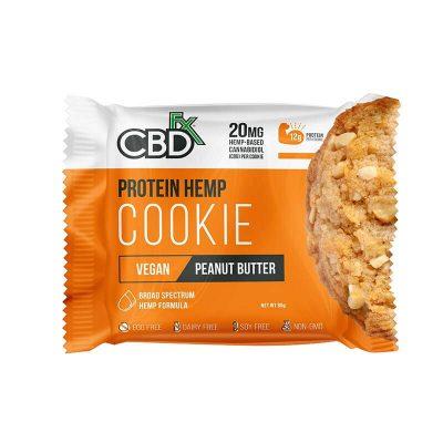 CBDfx Protein Hemp Cookies - Peanut Butter