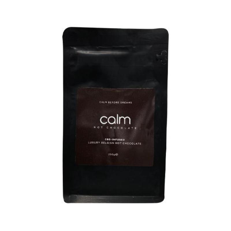 Calm Luxury Hot Chocolate CBD-Infused 100mg 250g - Belgian