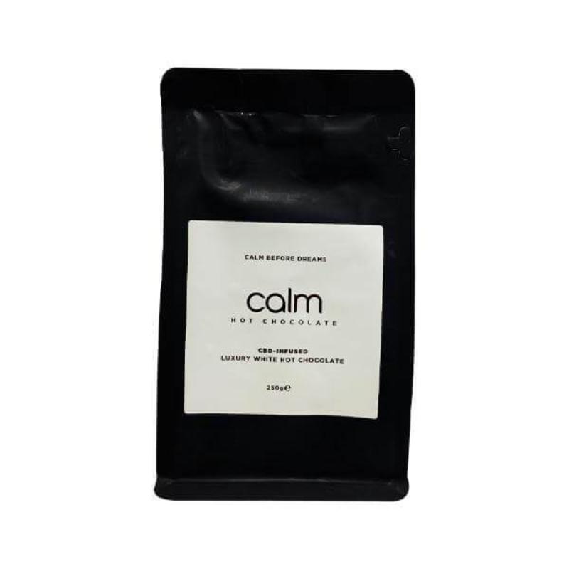 Calm Luxury Hot Chocolate CBD-Infused 100mg 250g - White Chocolate
