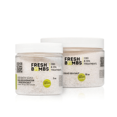 Fresh Bombs CBD Bath Salt – Soul Rejuvenator