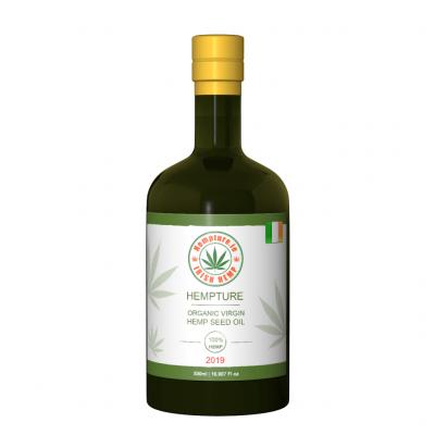 Hempture Organic Virgin Cold Pressed Hemp Seed Oil 500ml