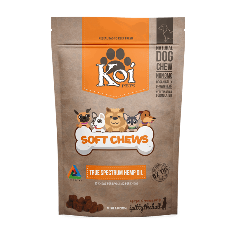 Koi Hemp Extract CBD Pet Soft Chews