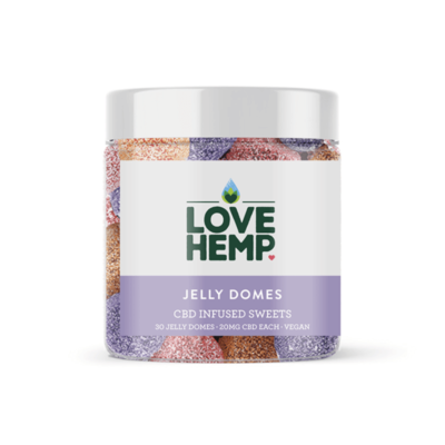 Love Hemp Jelly Domes 600mg