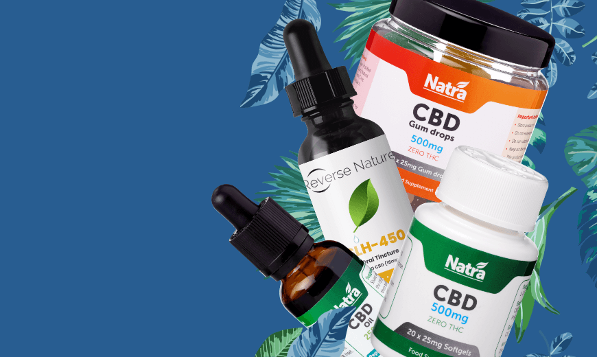Natra CBD & Reverse Nature Offer