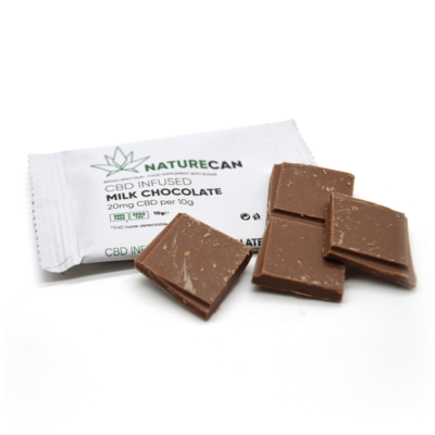 Naturecan CBD Infused Chocolate - Milk Chocolate