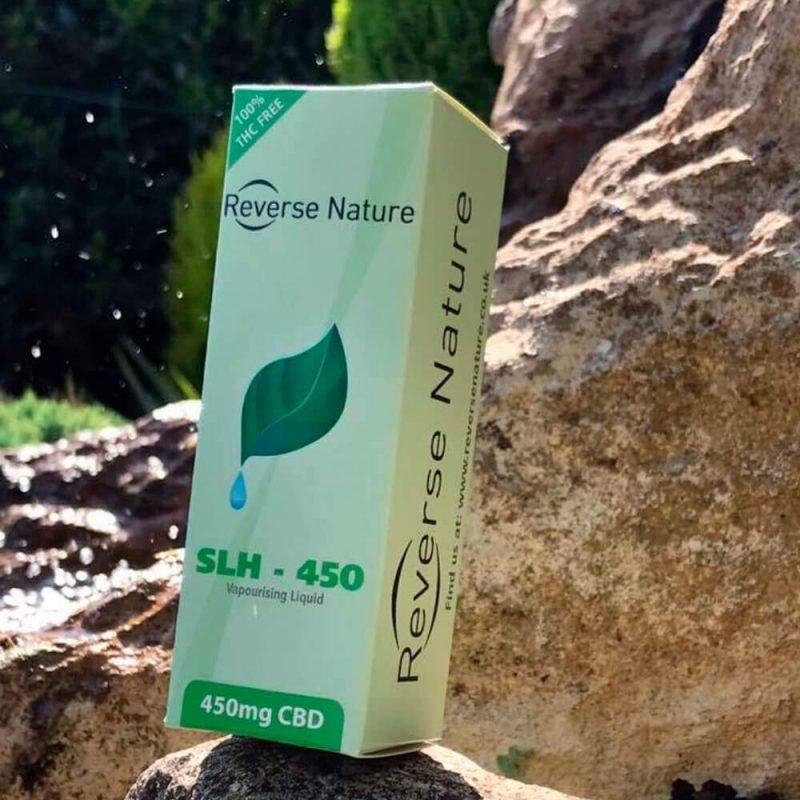 Reverse Nature Vaporizing Liquid 450mg