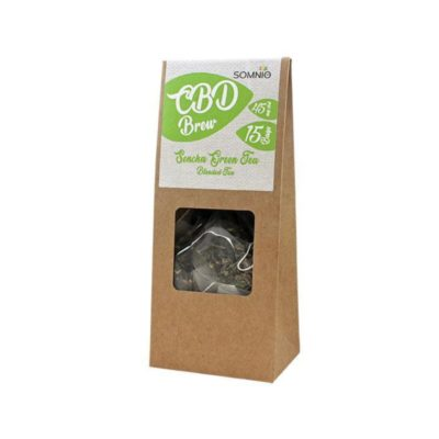Somnio CBD Brew Blended Tea 15 bags 30g - 45mg - Sencha Green Tea