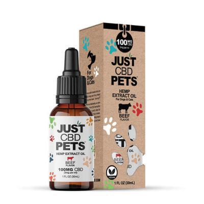 JustCBD Pet Tincture Beef
