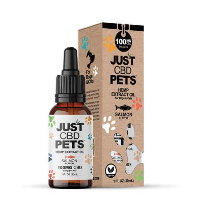 JustCBD Pet Tincture Salmon