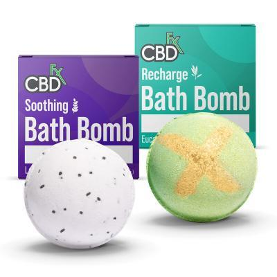 CBDfx Bath Bombs 200mg