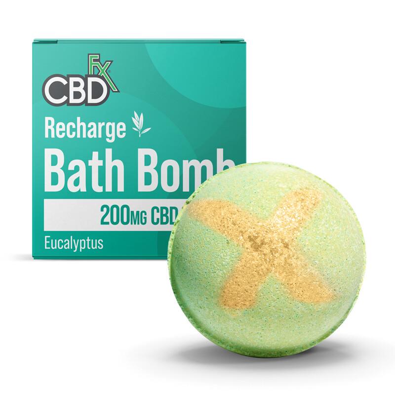 CBDfx Bath Bombs 200mg - Eucalyptus