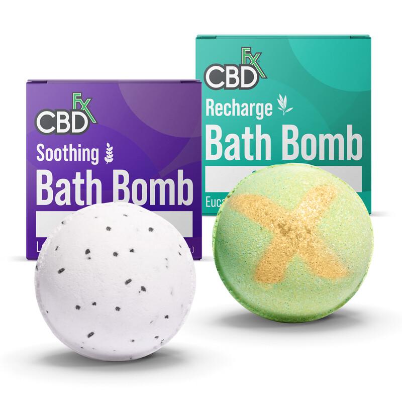 CBDfx Bath Bombs 200mg